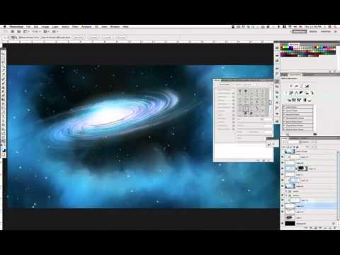 The Cosmos: Create a Spiral Galaxy