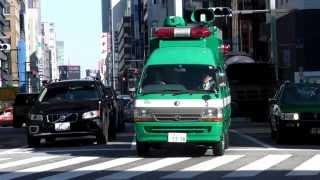 警視庁 第5機動隊 災害用広報車 トヨタハイエース