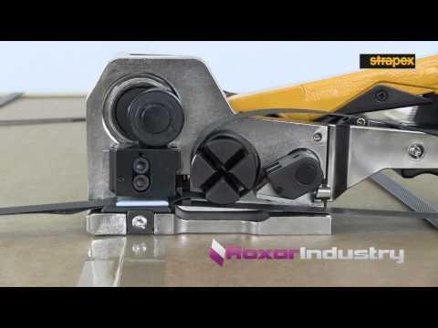 Ручное механическое оборудование для пластиковой ленты. Strapex STC30, STC31