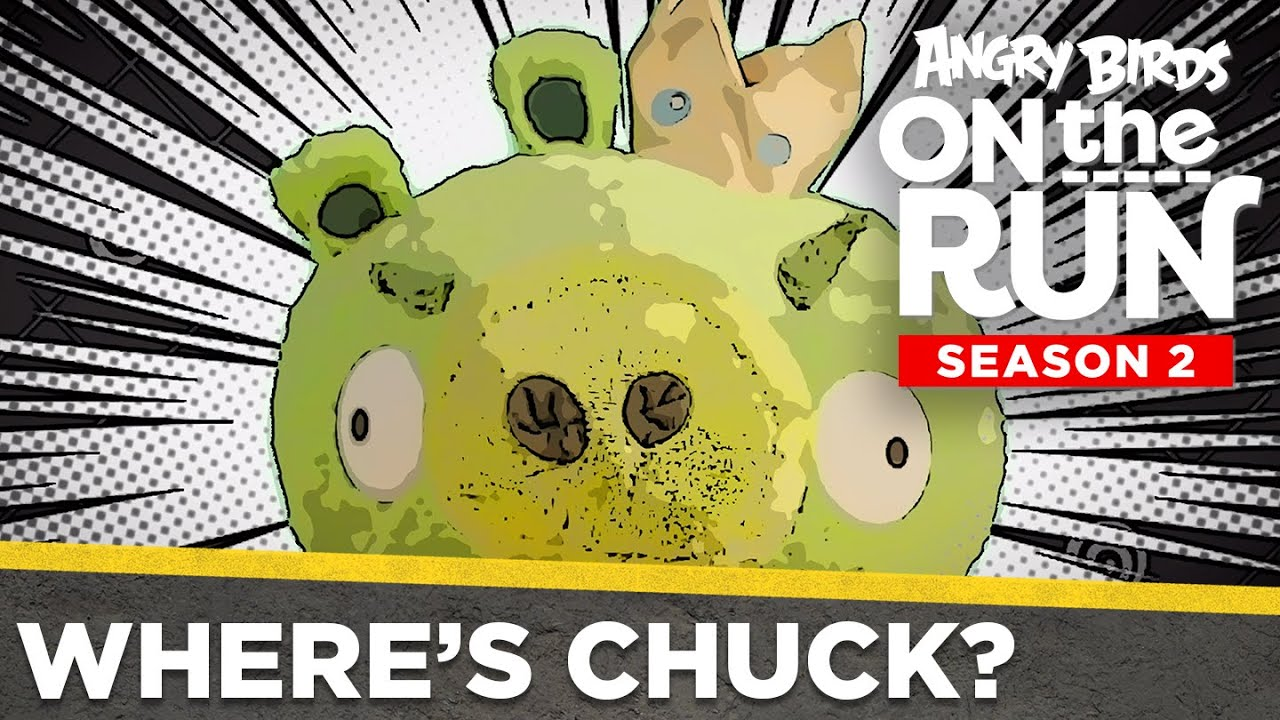 Angry Birds on the Run S2 | Where's Chuck? - Ep12 S2