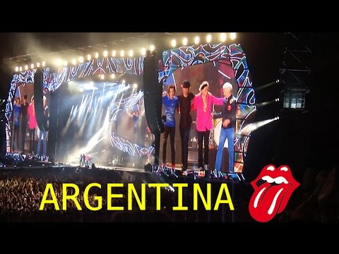 The Rolling Stones - (Live in Argentina 2016) - 7/02/16