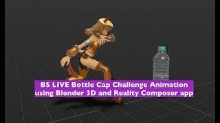 DEMO-AR-Animation mit Blender 3D und Apple Realität Komponist
