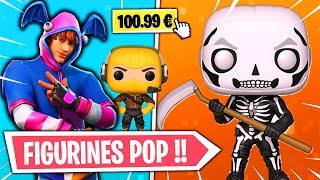 ALL FIGURINES POP ARRIVE ON FORTNITE WITH a SPECIAL SKIN OFFERT!!