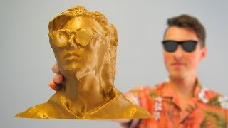 3D Printing My Buddy's Head!