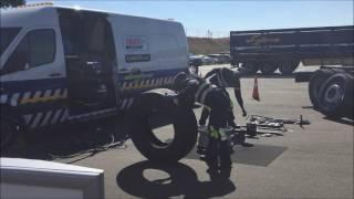 TrenTyre roadside assistance demonstration