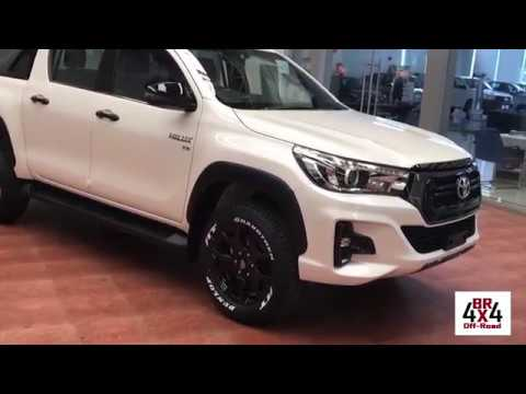 L200triton2020br4x4 Nova Hilux 2019 Facelift Challenge Youtube