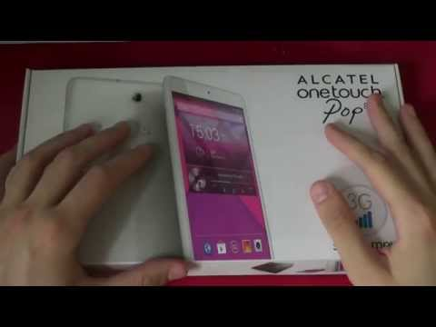 Unboxing Alcatel One Touch Pop 8 - MobileOS.it