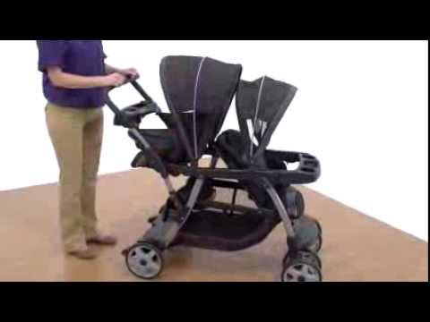 Graco Ready2grow Lx Stand Amp Ride Stroller Metropolis