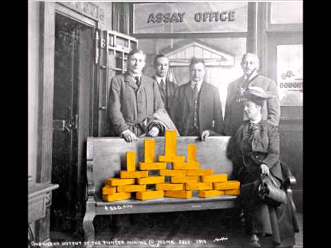 Placer Gold Mined during Nome, Alaska Gold Rush MILLIONS $$$