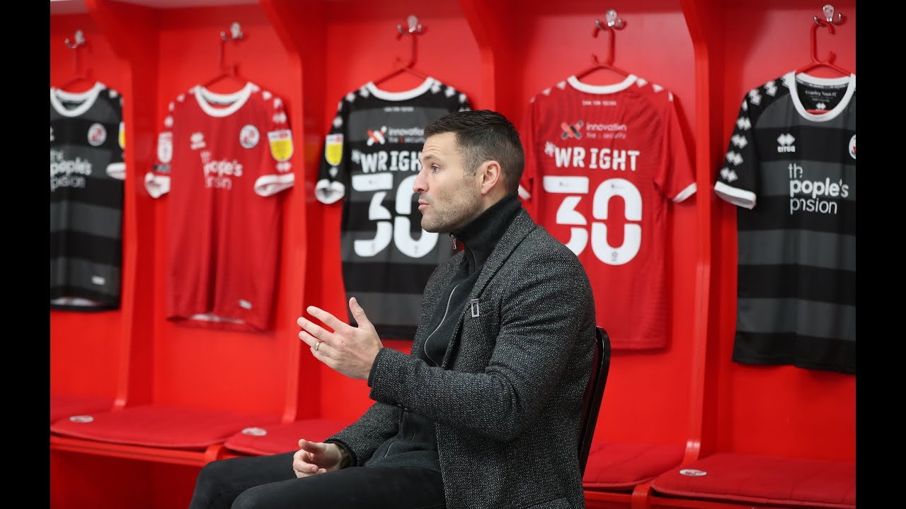 New Signing Mark Wright Interview Youtube