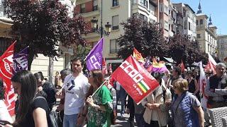 Manifestación Primero de Mayo 2019 en Logroño