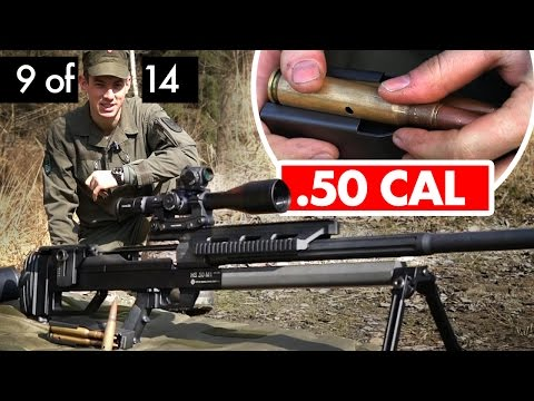 .50 CAL Sniper + How To Measure Distances #9 of 14 - Military Sniper Training