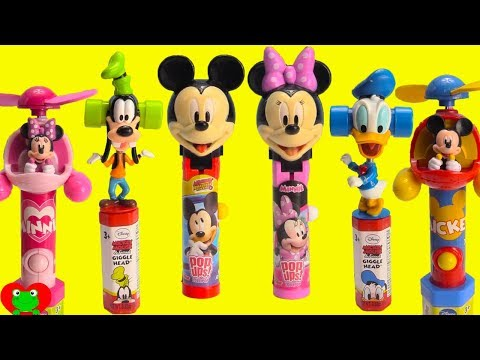 Mickey Mouse Club House Friends Candy, Slime, and Vending Machine Surprises