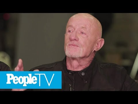 Jonathan Banks Cries And Reveals It's 'Painful' Reuniting With His 'Breaking Bad' Cast  PeopleTV