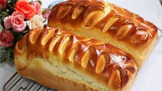 Pão De Leite Caseiro Macio E Fofinho