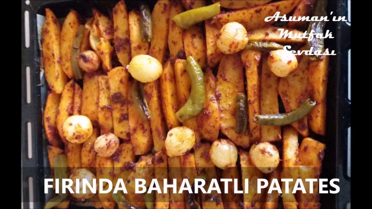 Baharatlı Elma Dilim Patates Videosu