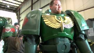 Maker Faire 2012: Warhammer 40K Space Marine Armor