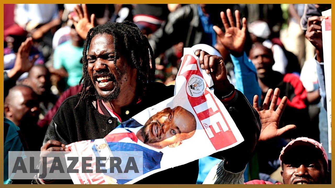 AlJazeera English:Protesters defy police ban to decry state of Zimbabwe's economy