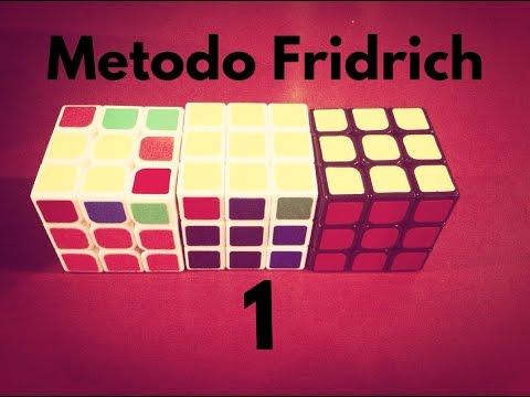 Como armar un cubo de rubik 3x3 metodo Fridrich (reducido) (1/3)