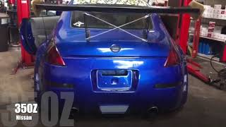 Nissan 350Z Straight Pipe