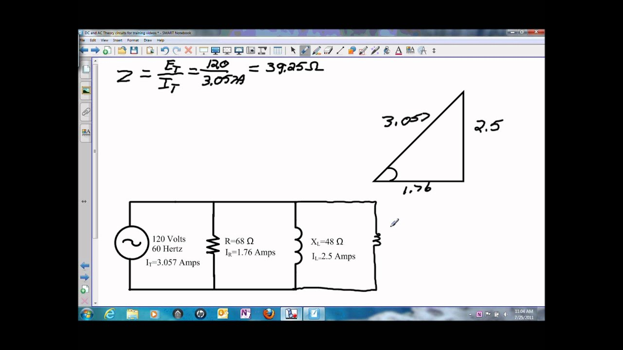 phasor diagram of rl circuit simple wiring software voltage and impedance in a parallel or rc wmv