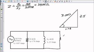 Voltage and Impedance in a Parallel RL or RC Circuit.wmv
