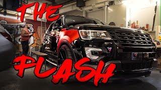 THE FLASH auf 22 ZOLL !!! Nein , das ist kein Range Rover ! | Folienprinz