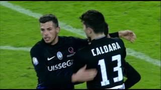 Il gol di Lattelath - Juventus - Atalanta - 3-2 - Tim Cup 2016/17