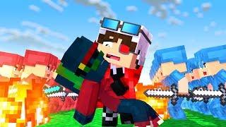 ЖИЗНЬ МОЕГО СЫНА В ВАШИХ РУКАХ!! 25 VS 25! НАПАДЕНИЕ НА СТОЛИЦУ! Minecraft