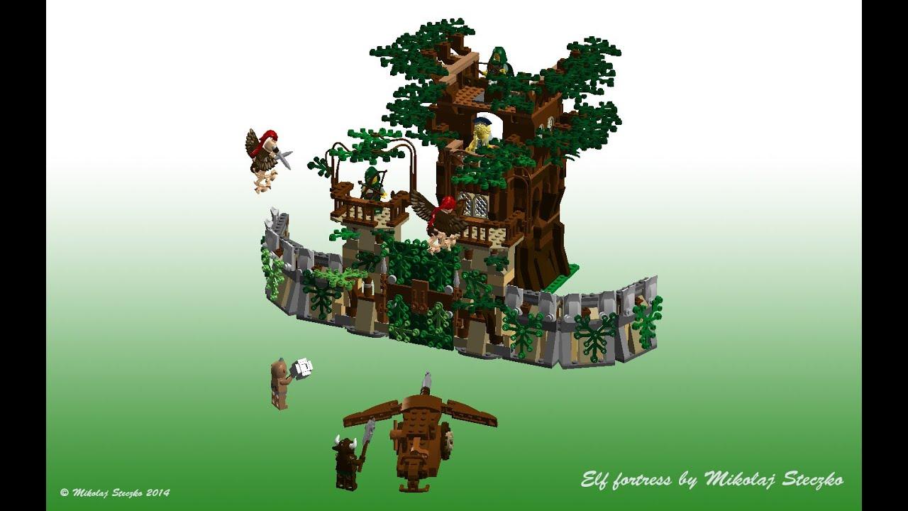 LEGO Elf Fortress Ideas set - YouTube