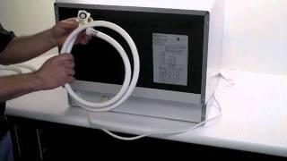 edgestar dwp61es countertop dishwasher setup and installation