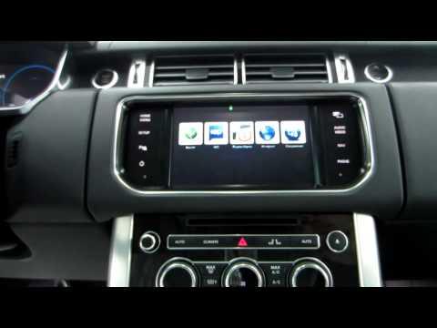 GPS навигации с пробками и интернетом для Range Rover Sport 2013+