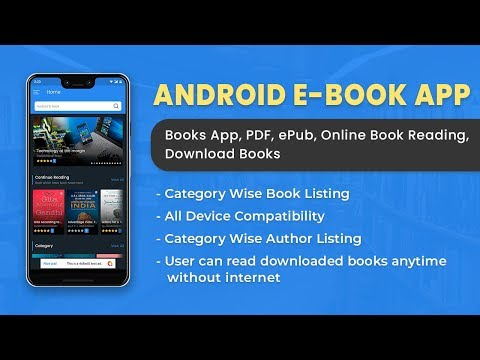 Android EBook App (Books App, PDF, EPub, Online Book Reading, Download Books) Source Code