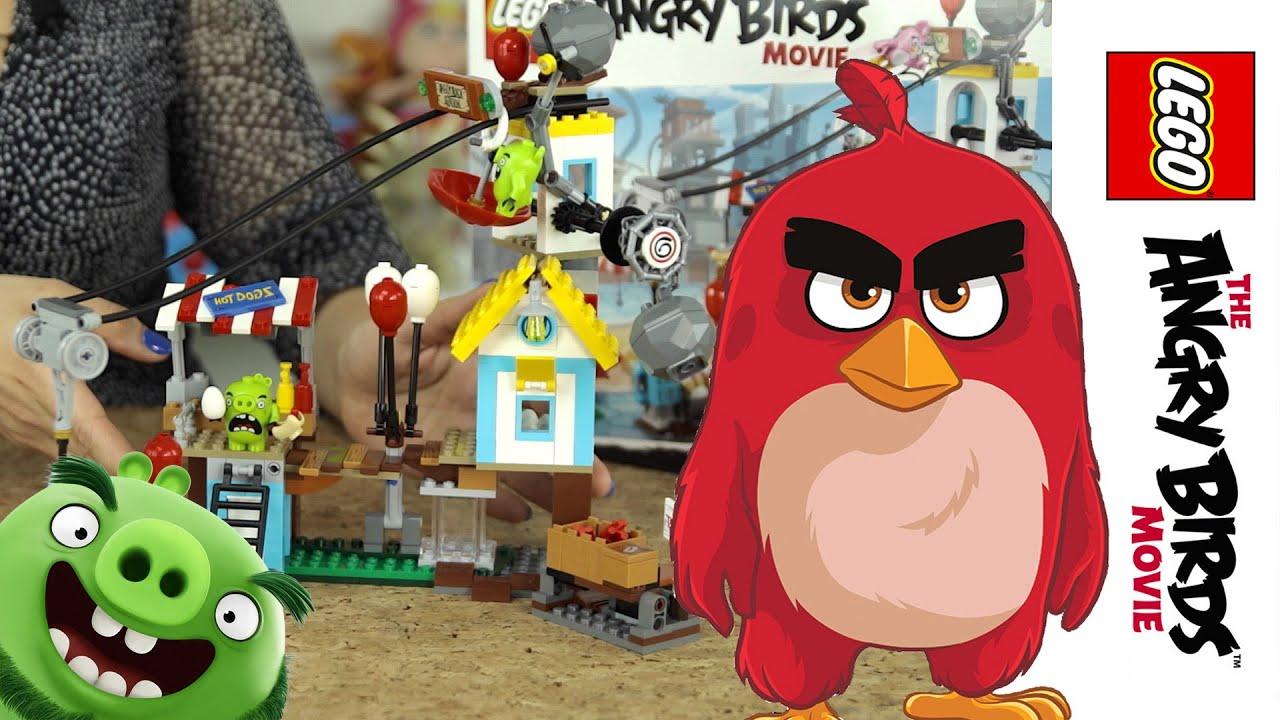 Klocki Lego Angry Birds Youtube