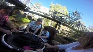 Thunder River Rapids Dreamworld Onride HD POV