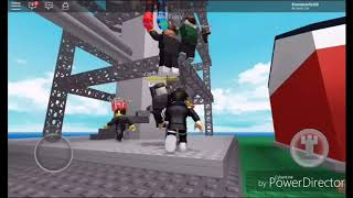 Roblox-natural disaster survivial: trying to survive (loquendo)