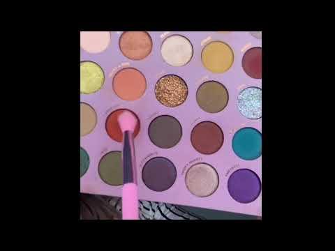 So Jaded Palette - Kathleen Lights X colourpop thumbnail
