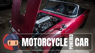 Motorcycle Engine in a Car - Here's Why and How