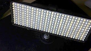 LED Светильник VL-320D – Световой Прибор Для Съемки Видео