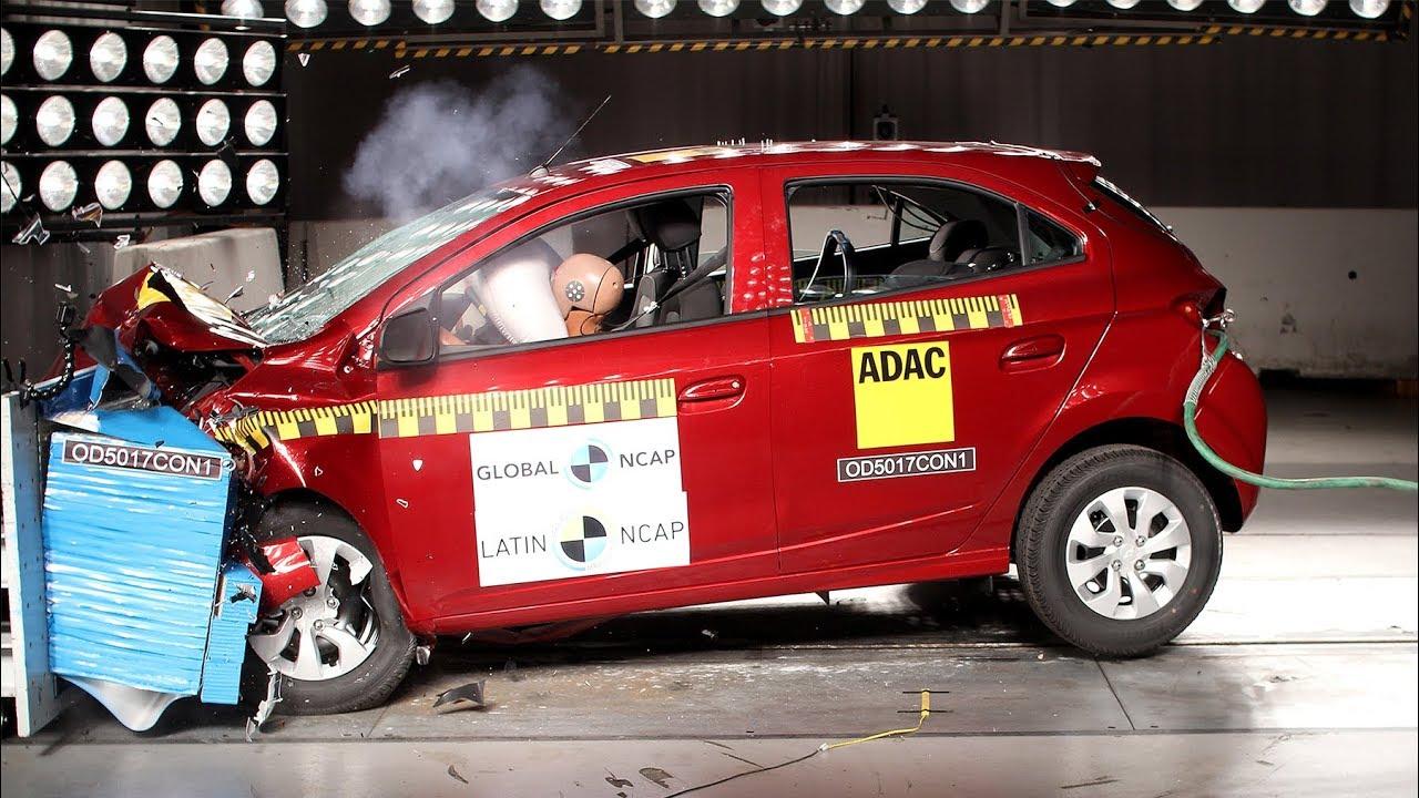 Chevrolet Onix Prisma Crash Test Latin Ncap 2 Airbags Youtube