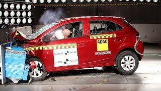 Chevrolet Onix  / Prisma Crash Test Latin NCAP (2 Airbags)
