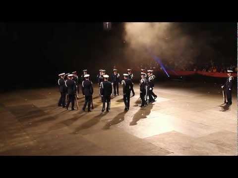 United States Coast Guard Ceremonial Honor Guard Silent Drill Team Tattoo 2012