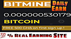 Earn free bitcoin 0.005 BTC | BITMINE | 💯% Real Earning site 2020 | Dailynete