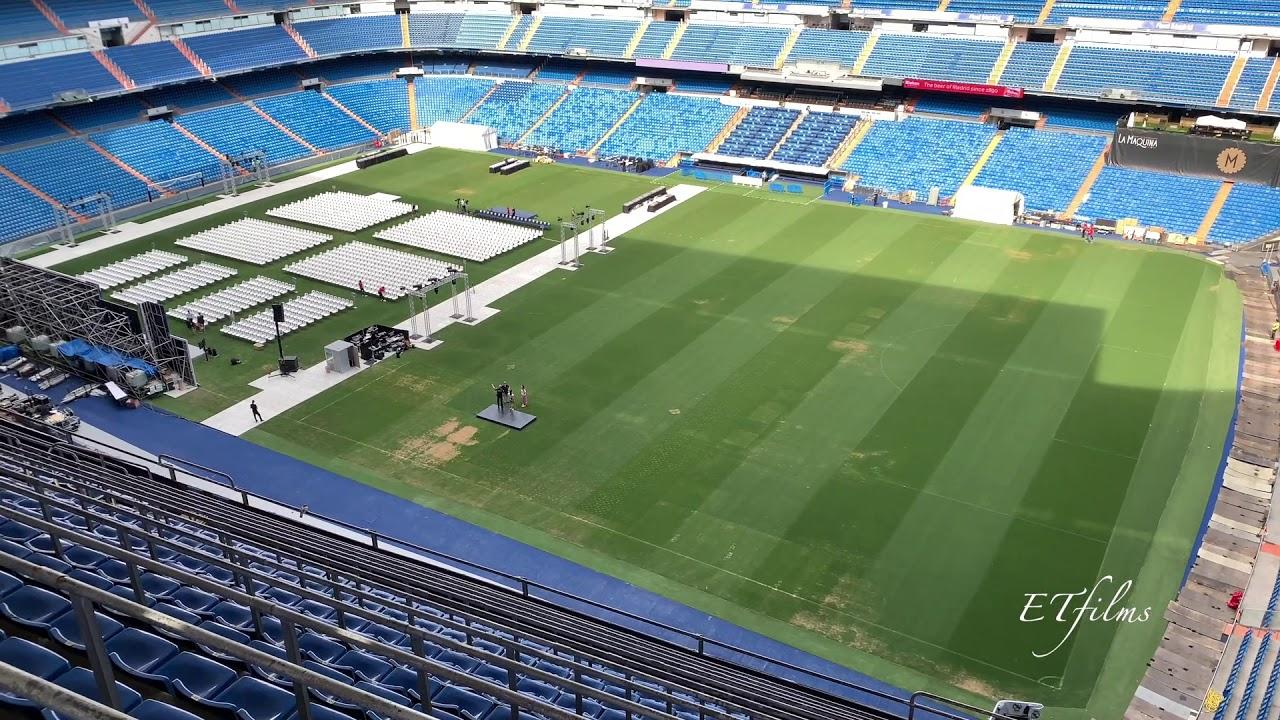 Real Madrid - Santiago Bernabéu Stadium July 2019 - YouTube