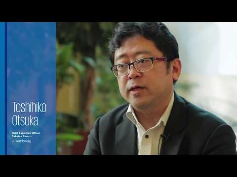 Why set up your company in Luxembourg? KPMG TV asks the CEO of Rakuten Bank Europe