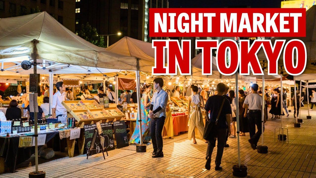 Tokyo's First Regular Night Market