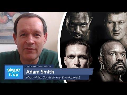 Adam Smith SKY BOXING EXCLUSIVE: Lockdown, AJ, PPVs, DAZN, Saunders & More
