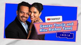 Gaurav Taneja and Ritu Rathee Taneja | YouTube FanFest India 2020