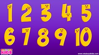 Numbers 1 to 10 Chant | 10 Little Numbers Song  | Numbers Rhymes for Children