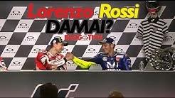 Dua Rival MotoGP Jorge Lorenzo dan Valentino Rossi Kembali Akur usai balapan MotoGP Italia 2018